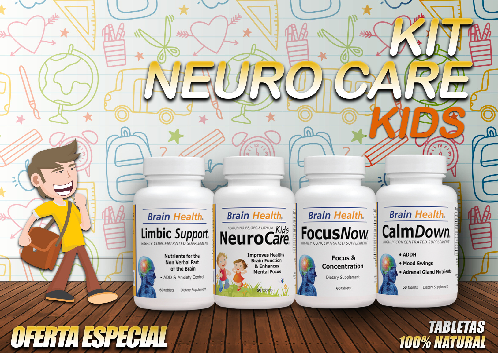 kit neuro care kids