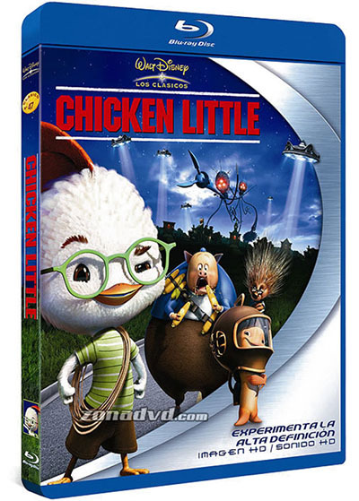 Chicken Little (2005) HDRip ONLINE VIP