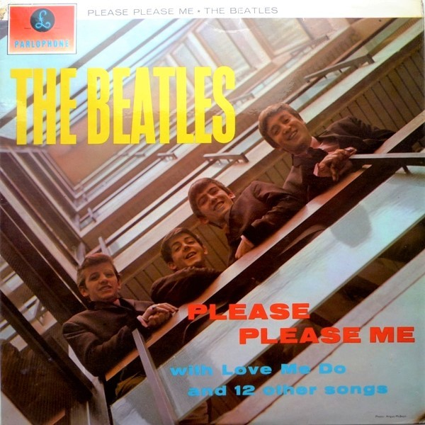 "1963 The Beatles publica su 1er álbum ""Please please me"""
