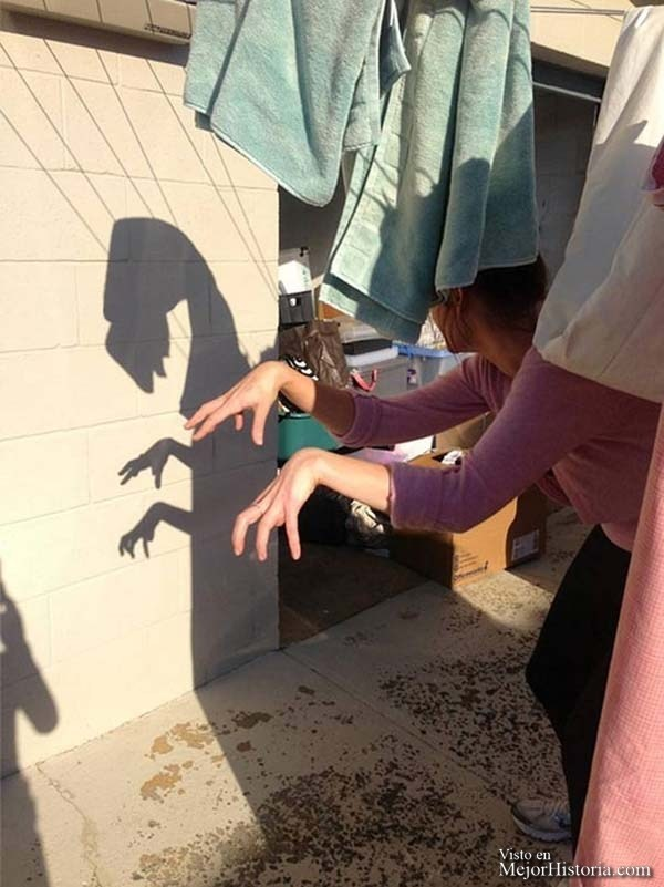 24 fotos con sombras divertidas, brillantes o incluso...