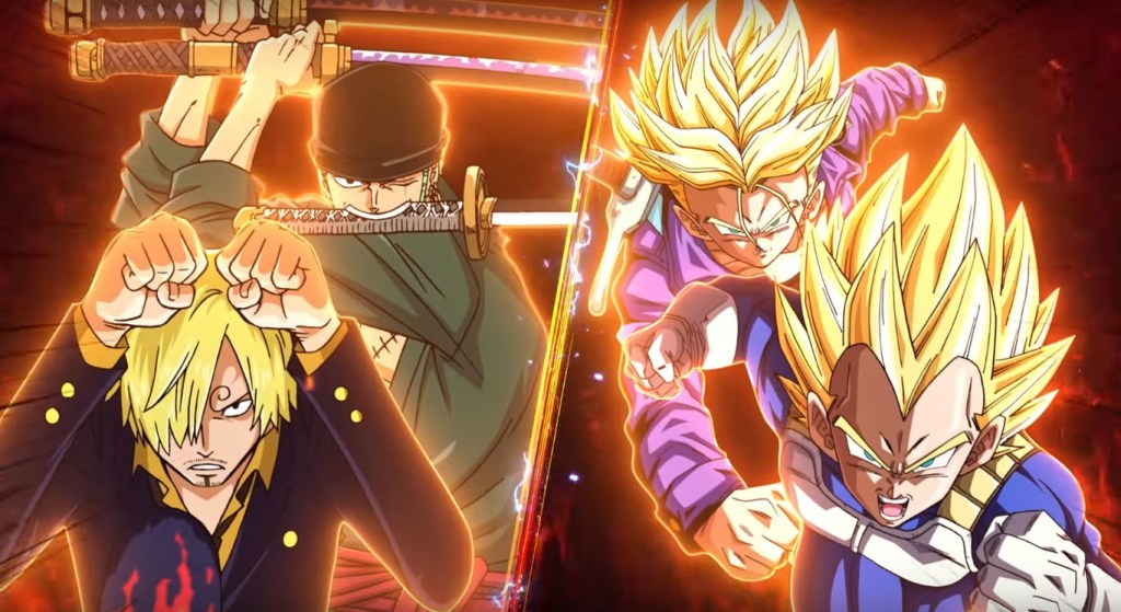 Se anunció CrossPlay entre One Piece y Dragon Ball Z