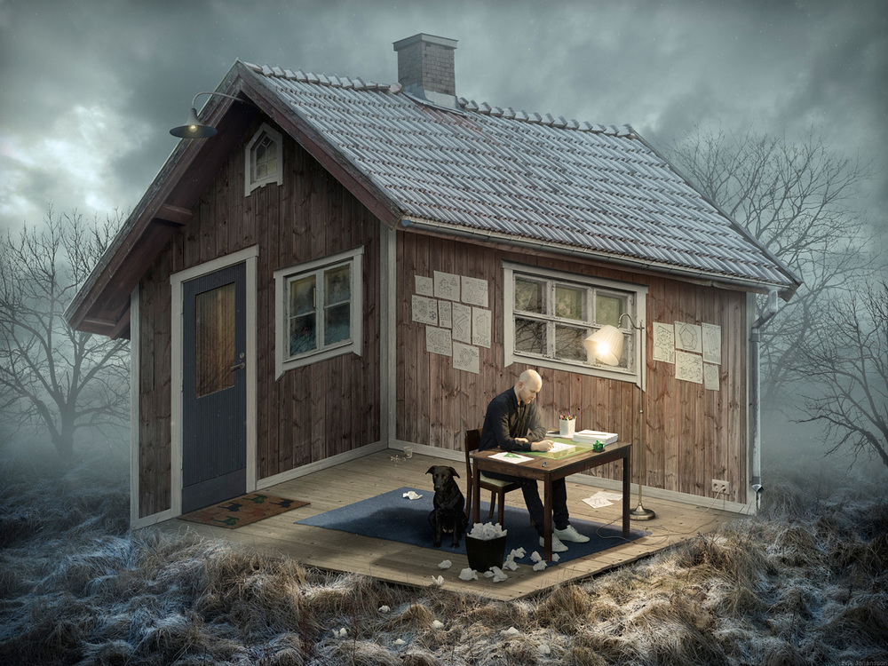 Increíble maestro del Photoshop surrealista Erik Johansson
