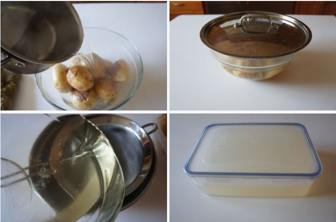 How to make glass potato chips