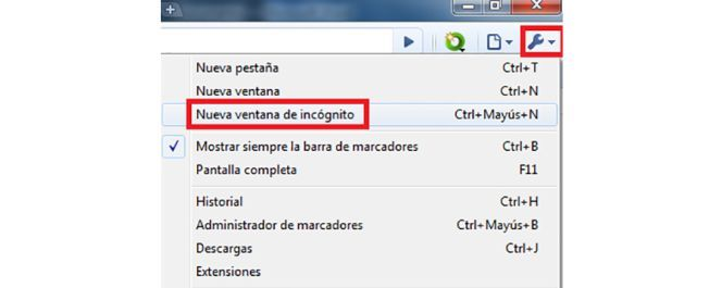 how to turn off incognito on chrome