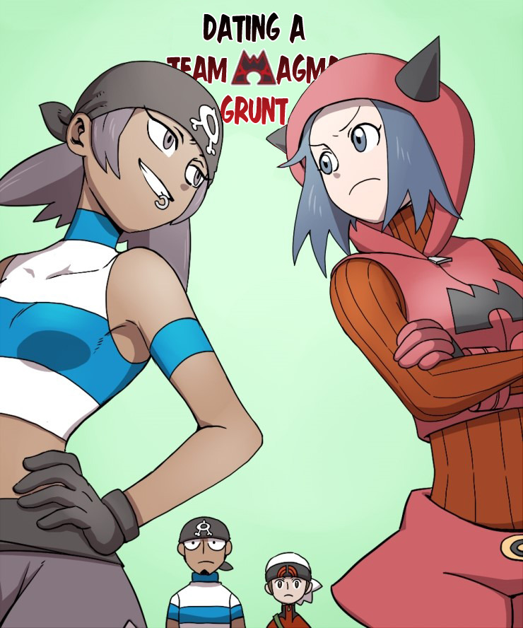 Dating a team magma grunt online