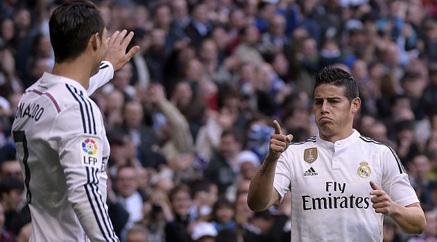 James Rodriguez, el insoportable del Real Madrid