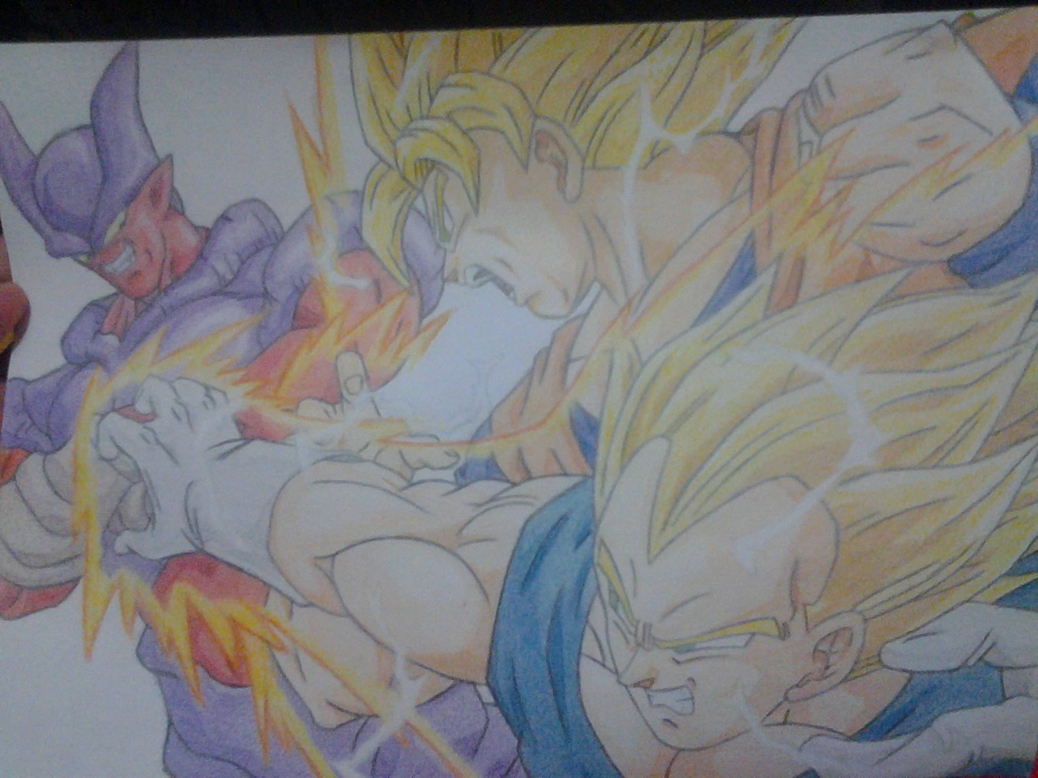 poster de dragon ball z