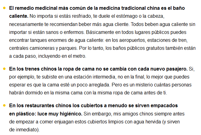 despues de vivir en china