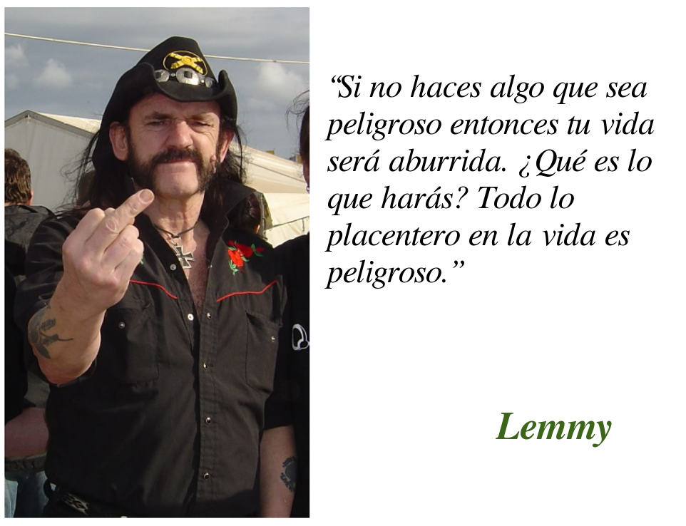 Lemmy:49% motherfucker 51% son of a bitch