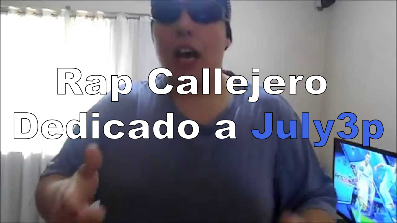 Le dedicaron un rap a july3p