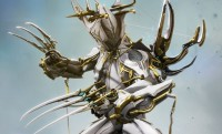 #Warframe  Retiro lo dicho  - Liset Prime Skin – Explore the system in the style of the Orokin - Saita Prime Suit – A gilded...