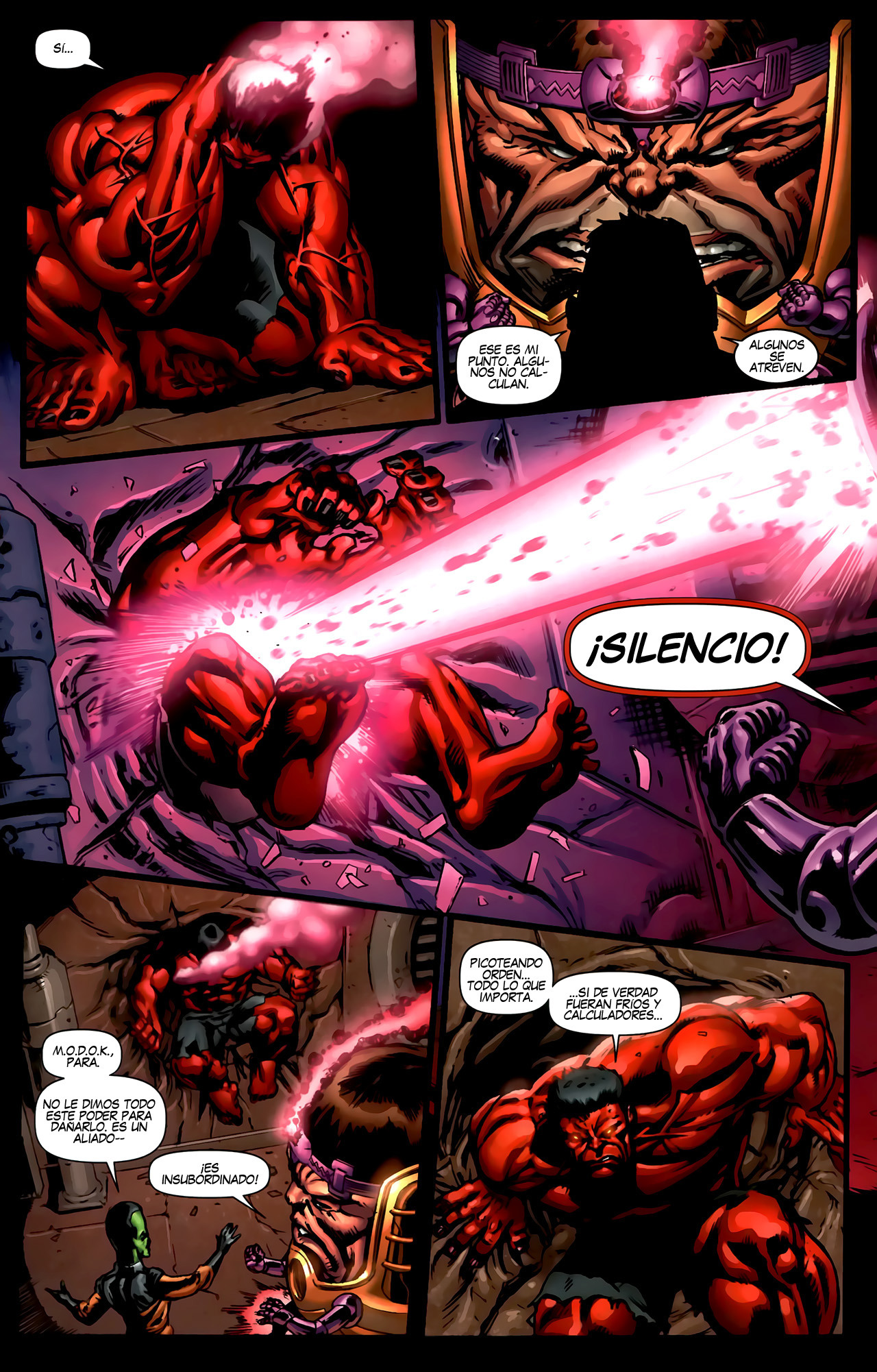Fall of The Hulks. 15. Red Hulk #4