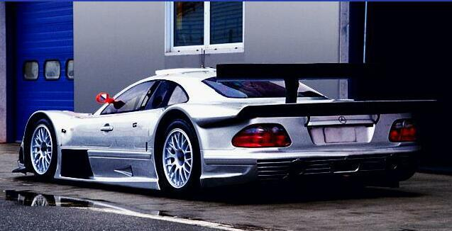 Historia del Mercedes Benz CLK GTR (info+fotos+videos)