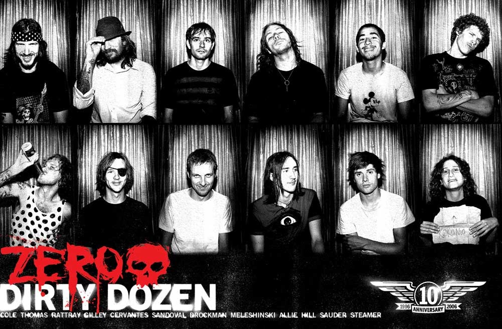 Zero Skateboards & Fallen Footwear Team´s