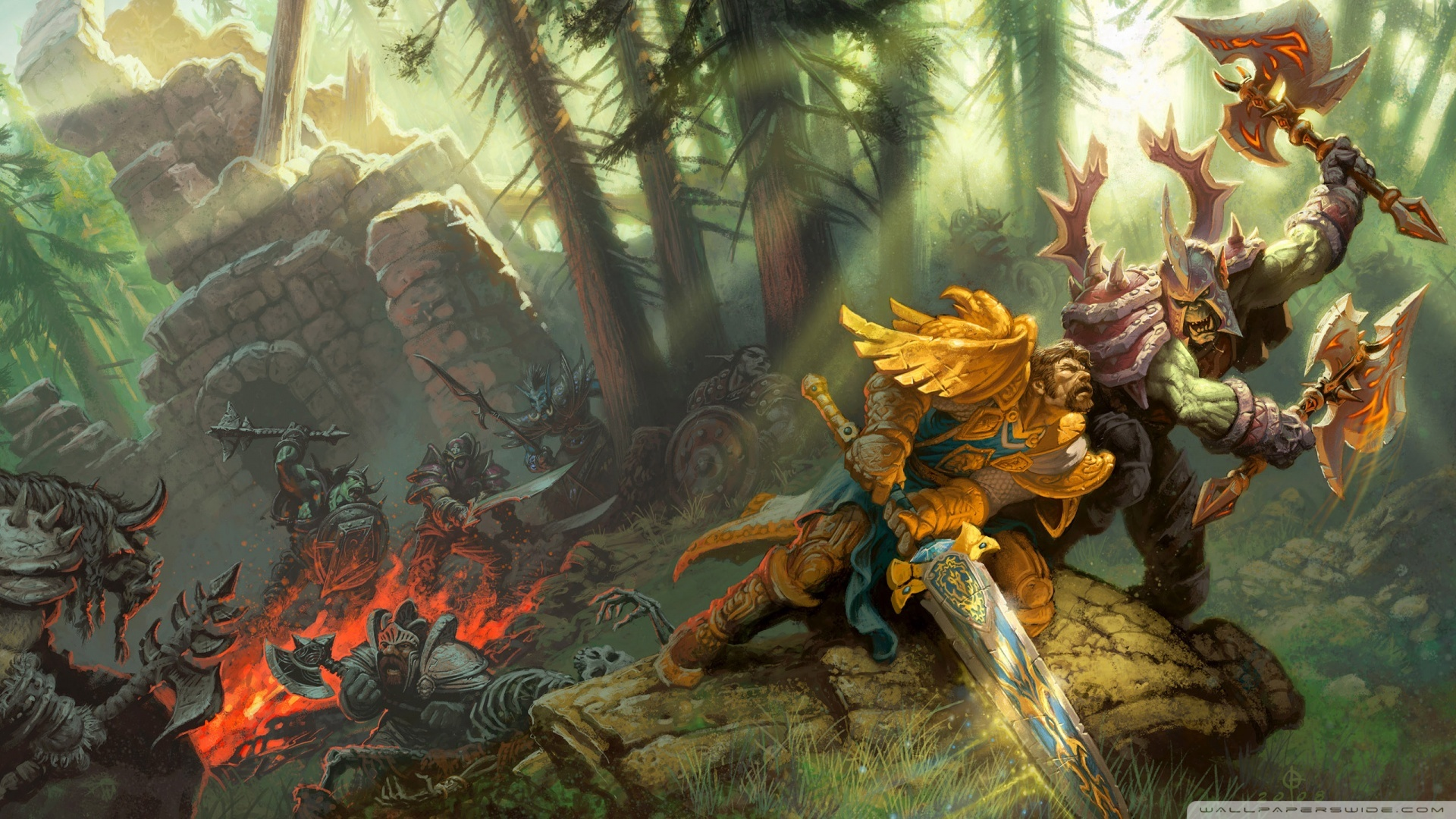 Varios Wallpapers de Warcraft