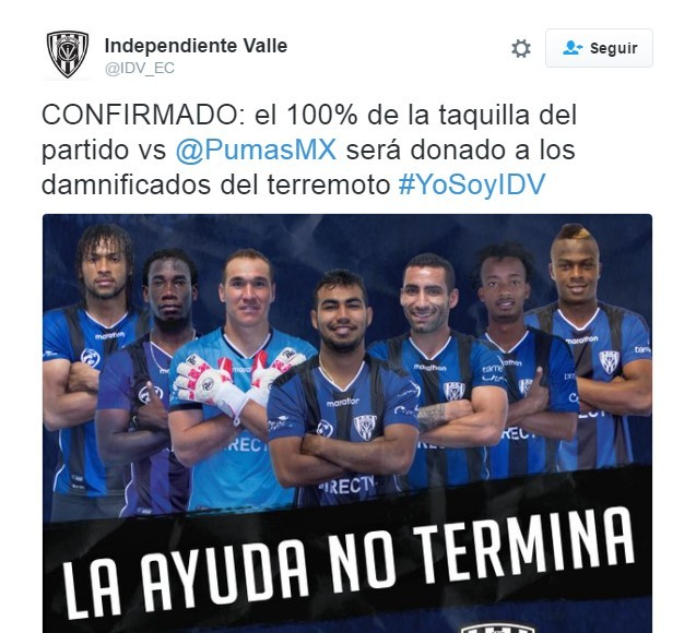 Yo Te Banco,Club de Alto Rendimiento Independiente del Valle