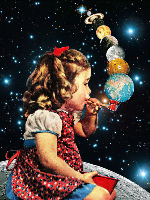 Los Collages Surrealistas de Eugenia Loli.