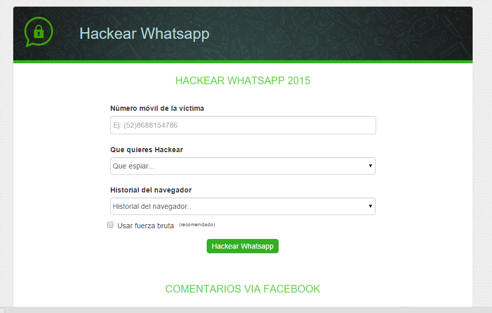 Hackeando WhatsApp | Tutorial + Yapa