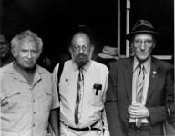 Norman Mailer, Allen Ginsberg, and William S. Burroughs, 1983