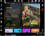 descargando...  :metal:  #Fortnite NO #Steam pero es tan gratis... #NoDiganComoVivo  :grin:  https://www.epicgames.com/fortnite/...