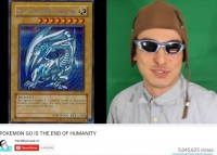 Papa Franku explains  how to get Blue Eyes White Dragon in Pokemon GO  (2016)