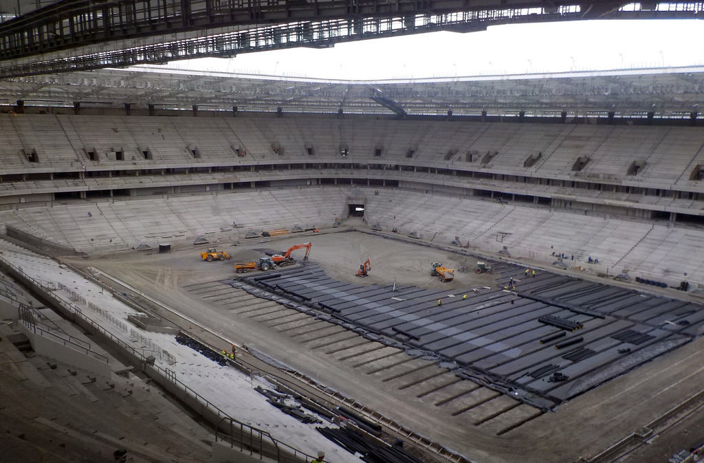 russia WC 2018 Stadiums