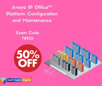 "Are you searching for easy dumps for Avaya IP Office™ Platform Configuration and Maintenance? Use the coupon Code ""whatagood1"" For 50% Discount. Visit us @ here https://www.selfexamengine.com/avaya-7893x.htm"