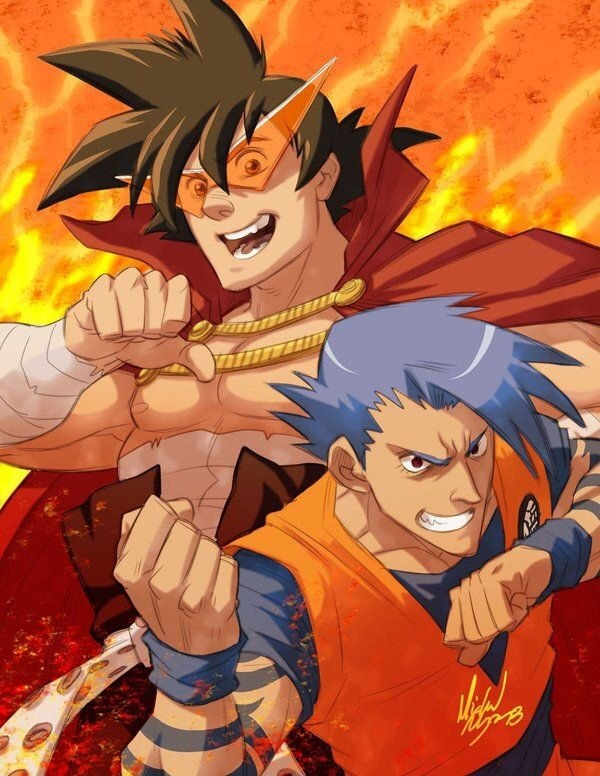50 ilustraciones Curiosas de Dragon Ball [Crossovers]