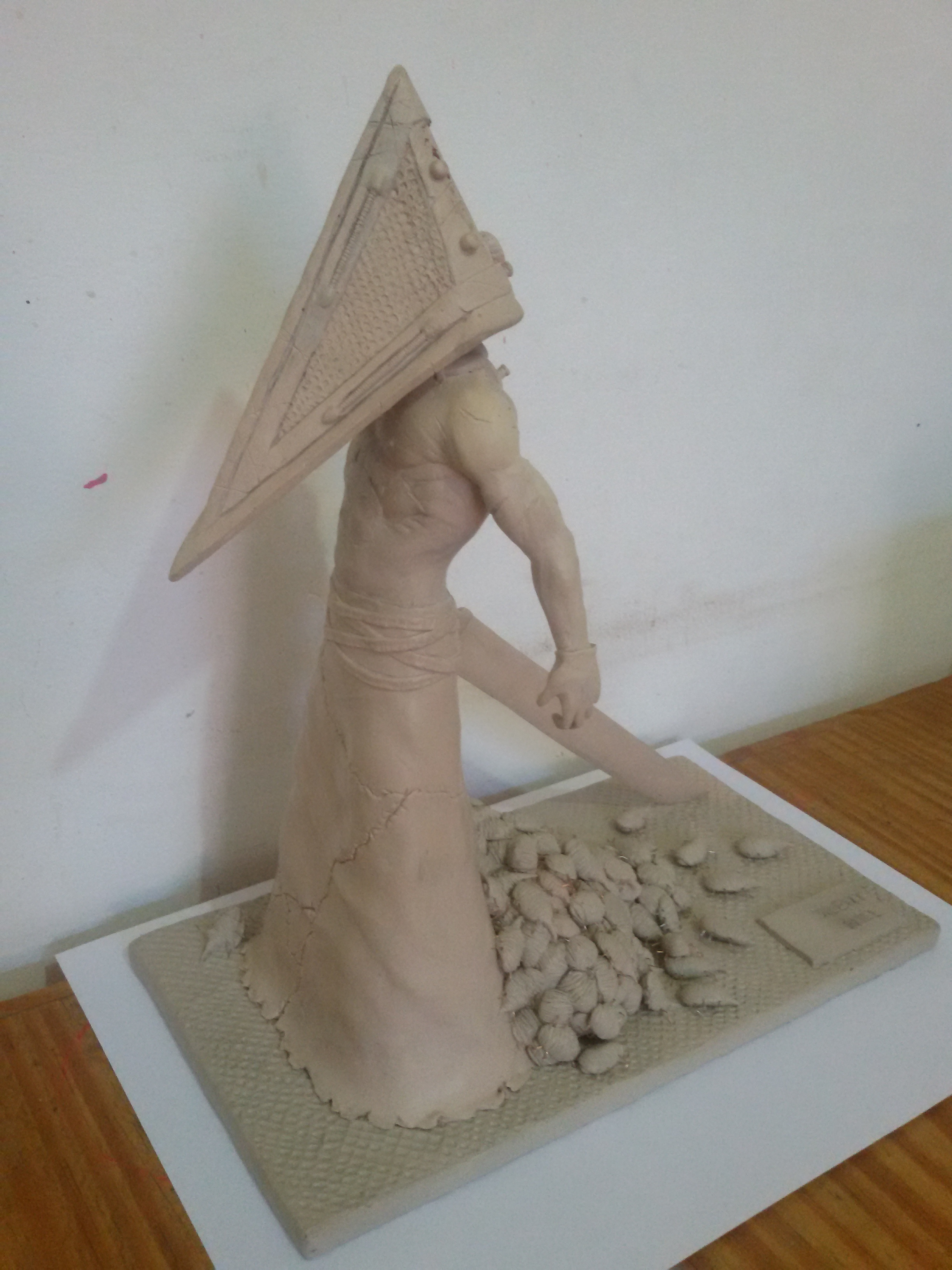 Pyramid Head en masilla epoxy