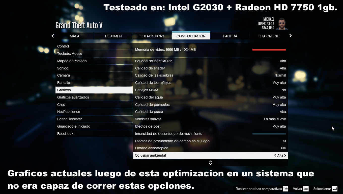OPTIMIZAR GTA V