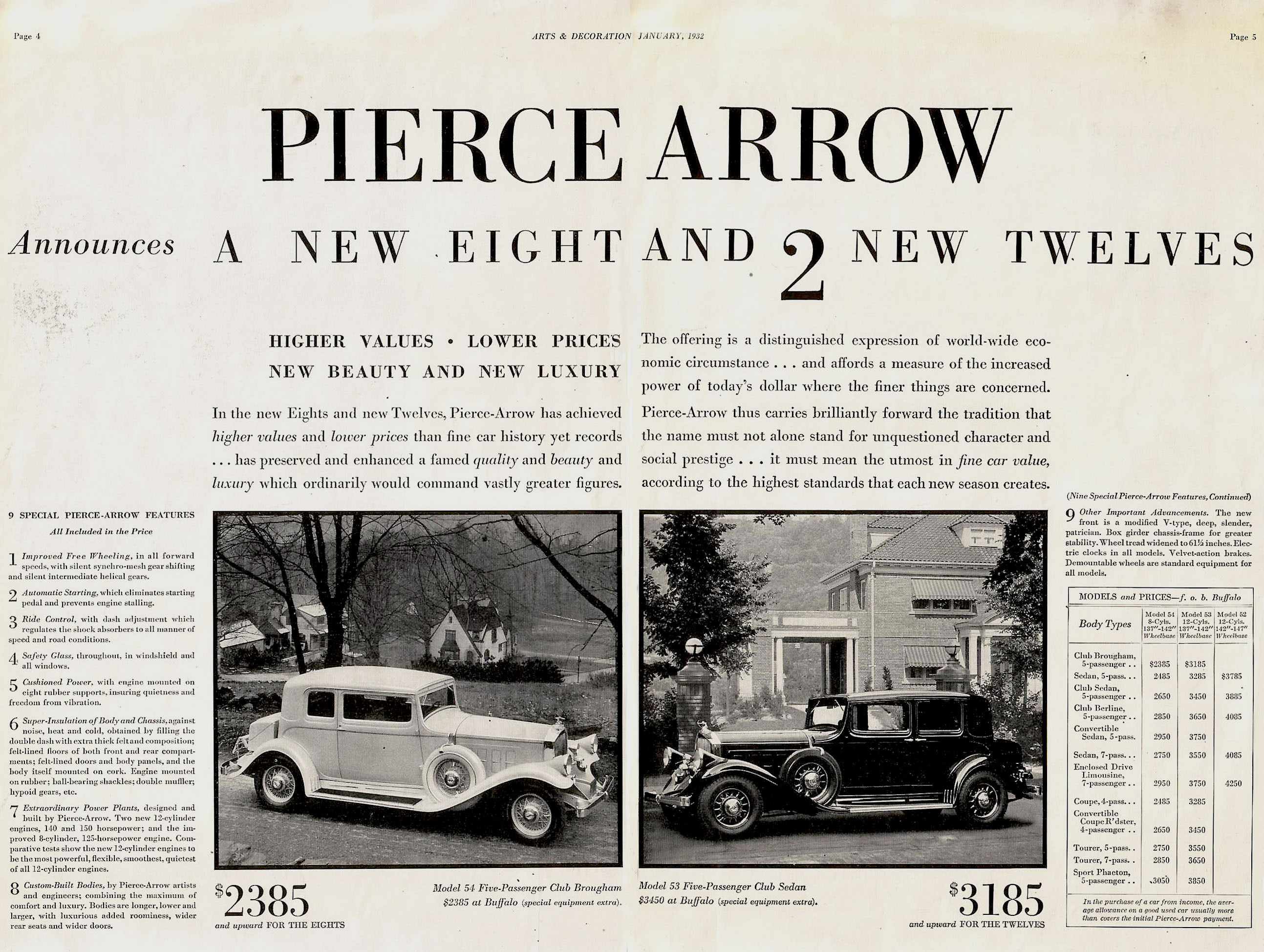 Un auto de prestigio: Pierce-Arrow
