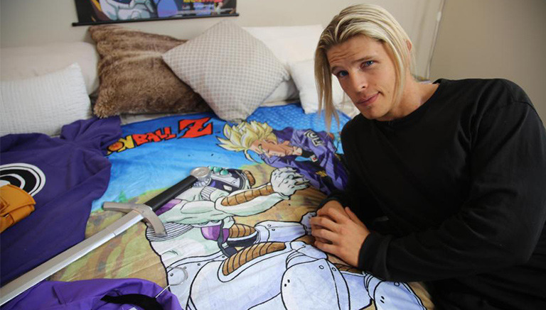 El fan supremo de Trunks