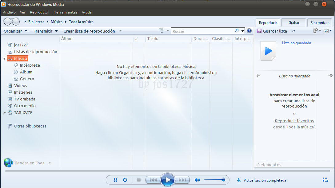 reinstalacion de windows media player 12 en windows 7 - Hazlo tu ...