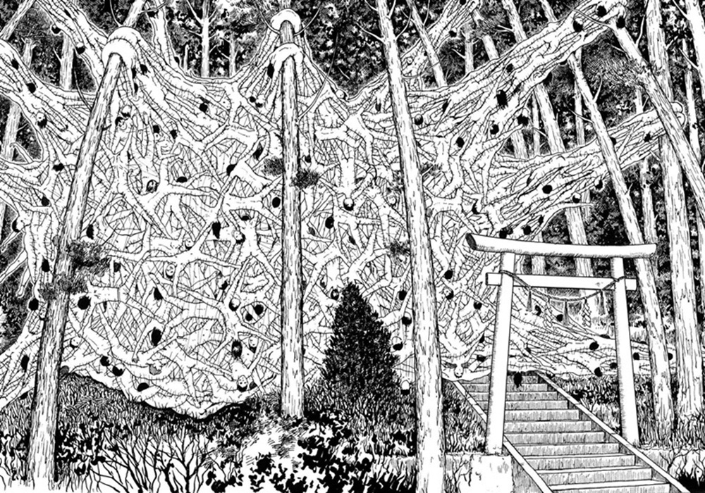Junji Ito - Army of One | The Horror! | Pinterest