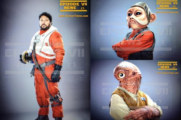 14 famosos que no notaste en star warsr force awakens taringa - Personnage star wars 7 ...