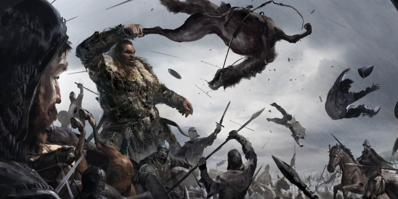 Arte conceptual de sexta temporada de Game of Thrones