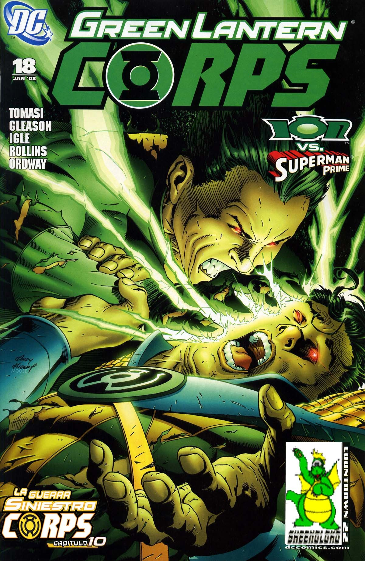 Green lantern: siniestro corps war vol. 18