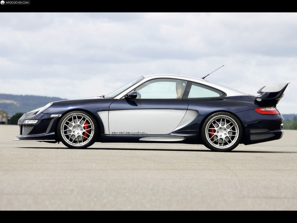 gemballa avalanche 600 gt2 evo un porsche 911 gt2 con 600cv taringa. Black Bedroom Furniture Sets. Home Design Ideas