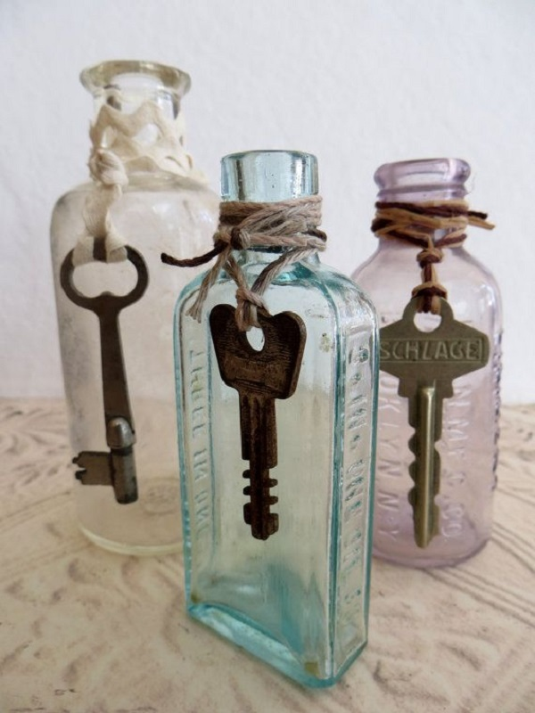 Ideas Para Decorar Botellas Y Frascos De Vidrio Hazlo En Taringa - Decorar-botellas