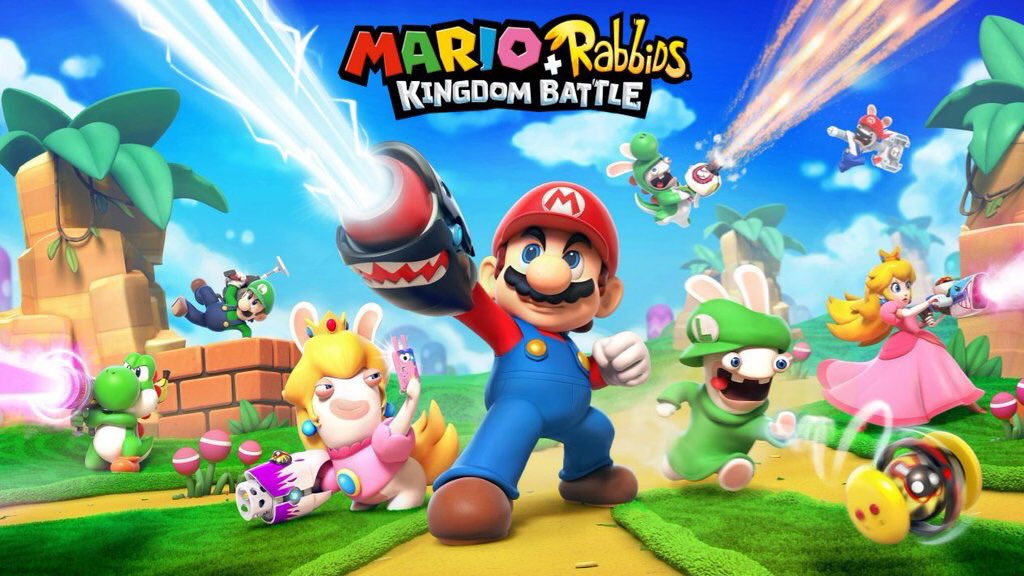 Arte oficial de Mario + Rabbids Kingdom Battle.