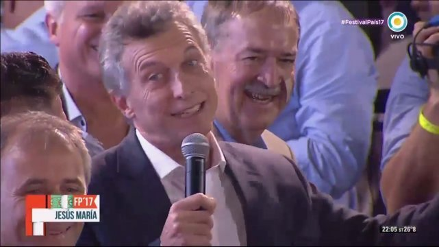 Cinco blooper de Macri inolvidables, mas yapa