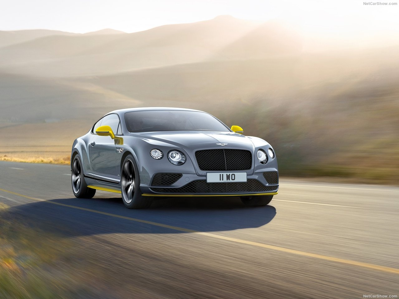 Bentley Continental GT Speed Black Edition (2017)