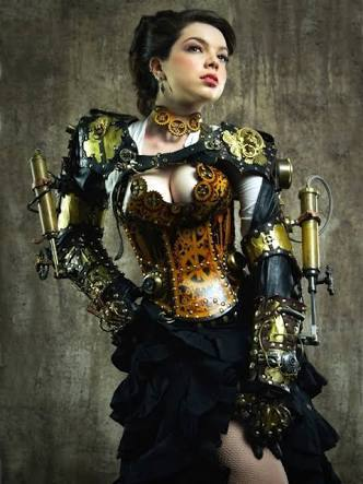 Steampunk girls