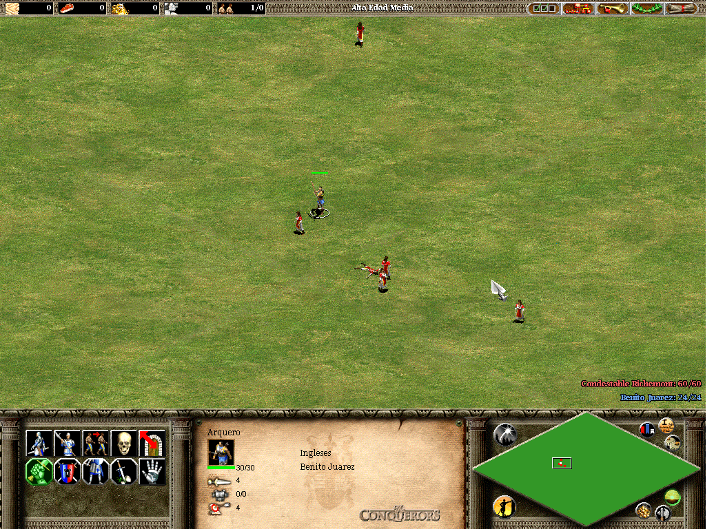 Soldado de Age of Empires, yo te banco!