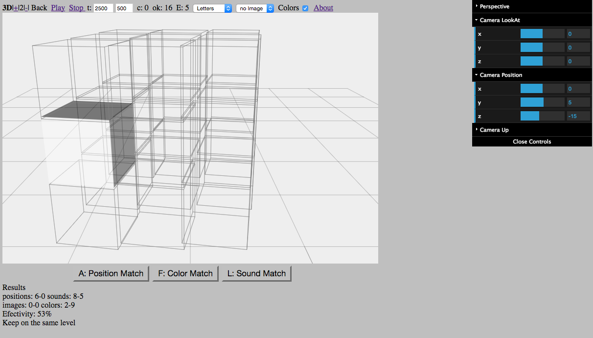 Creando mi software de entrenamiento mental 3D N-back 2.0