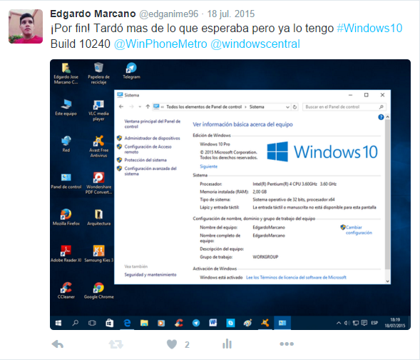windows 10 requisitos