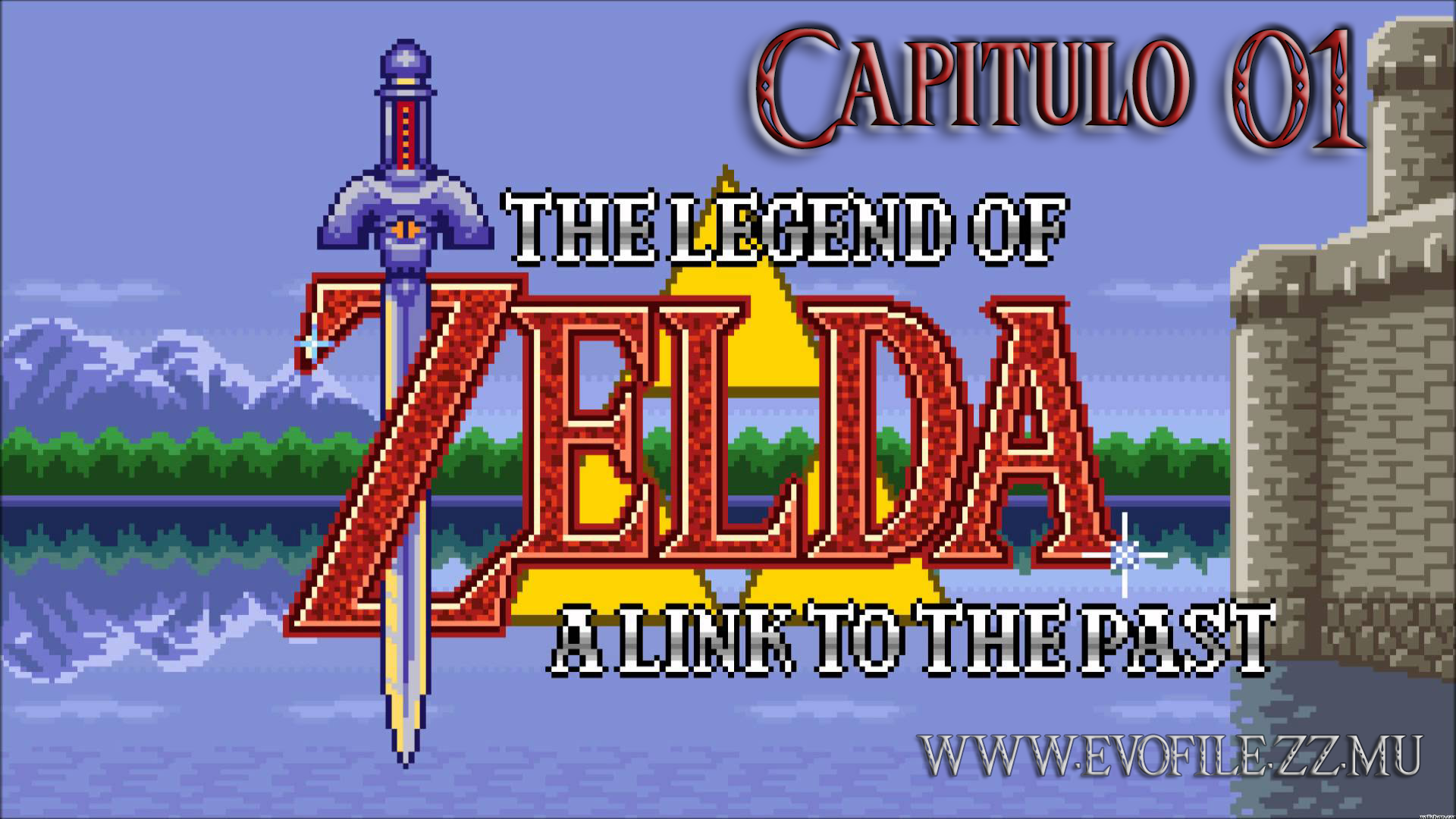 The legend of Zelda a Link To The Past! GamePlay Cap 1