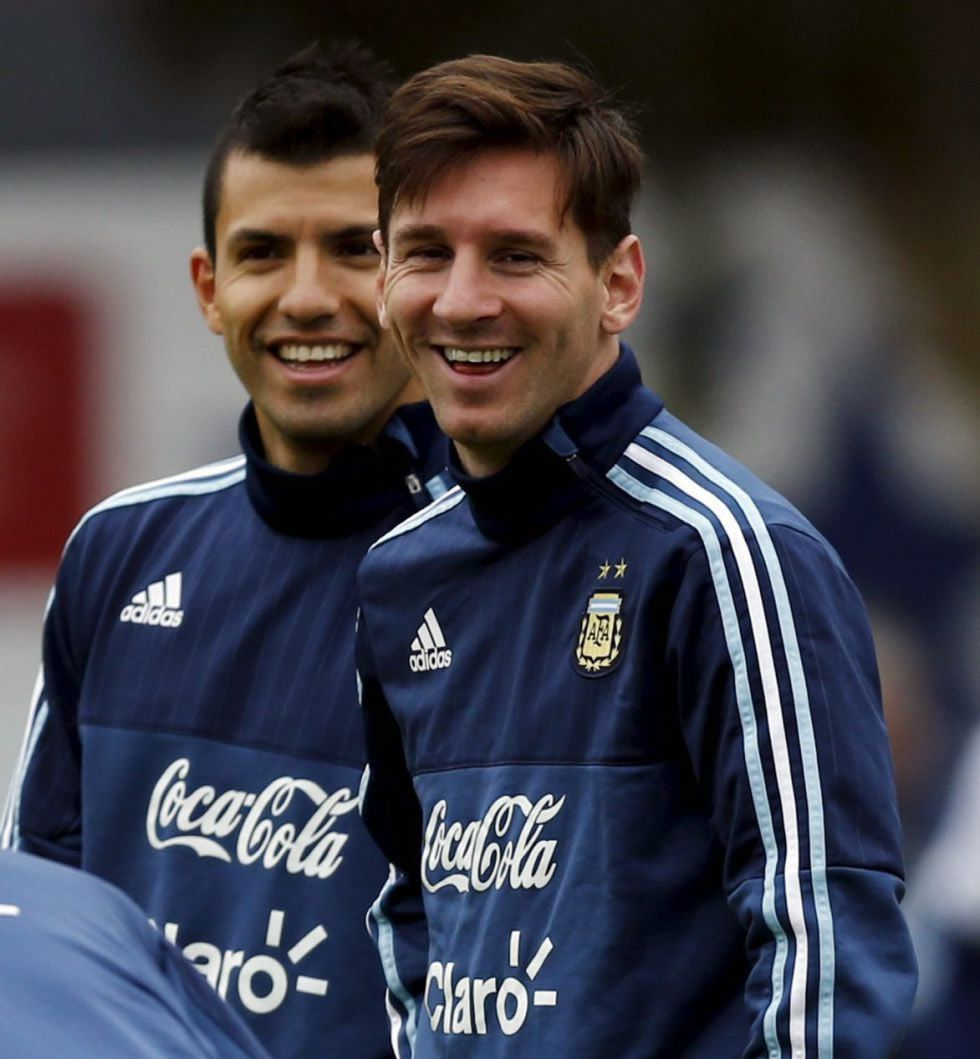 Agüero,clave para que Messi juegue en el City de Guardiola