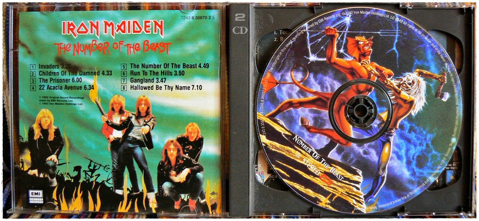 Hoy cumple 35 años The Number of the Beast de Iron Maiden