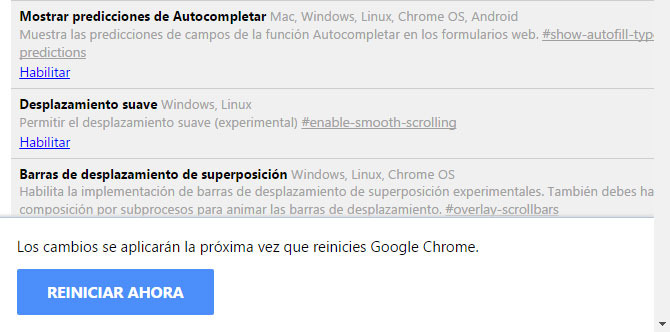 trucos de Google Chrome